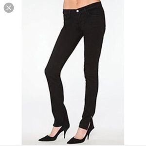 J Brand 9612 The Deal Ankle ZIP Slim Fit Jeans
